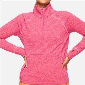 NWT Outdoor Voices Fleece Half Zip Sweatshirt. S